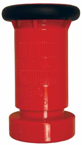 Flow Fog Nozzle Red Thermoplastic High Flow 1-1/2 inch NST (NH