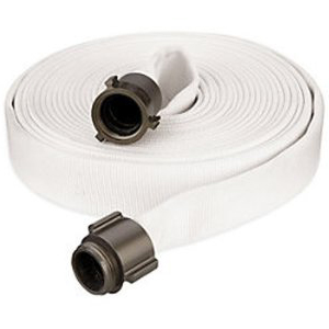 Double jacket contractor grade fire hose 2-1/2 inch x 50 feet coupled
