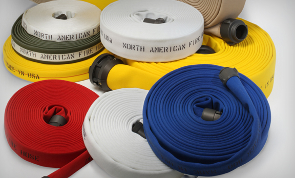 Assorted Colors White Double Jacket Fire Hose 2 1 2 Inch